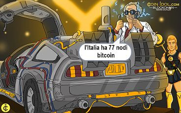 L'Italia ha 77 nodi Bitcoin, classifica 21° al mondo